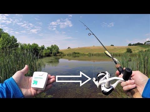 DENTAL FLOSS Fishing Line CHALLENGE!!!