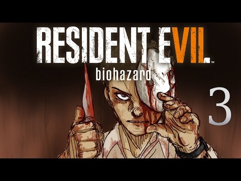 Cry Plays: Resident Evil 7 [P3] (Can see shit edition)