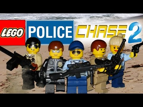 Lego Police Chase 2 : Beach Justice