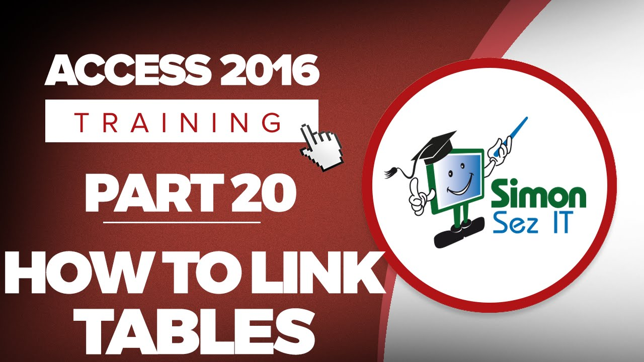 Access 2016 for Beginners Part 20: How to Link Access Tables to Create Relationships