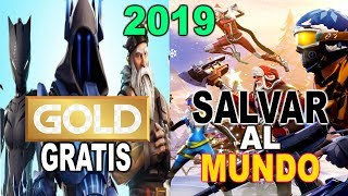 Fortnite- SAVE THE WORLD FREE AND XBOX LIVE GOLD FREE IN THIS YEAR (NEWS AND RUMS)