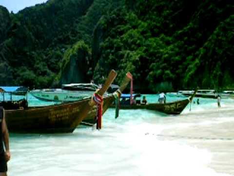 """Phi Phi Islands - Spiaggia """"the beach"""" Leonardo Di Caprio"""