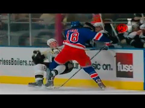 Marc Staal hits Jordan Staal | 04/29/2008