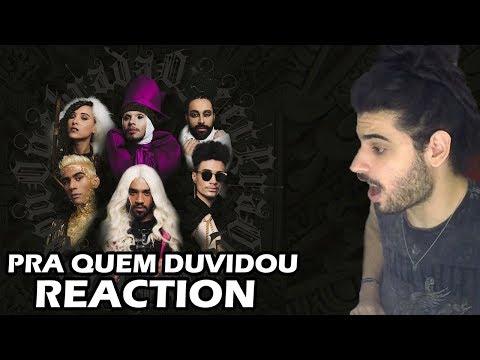 Quebrada Queer - Pra Quem Duvidou Prod Apuke Beat REACTION  Reação e comentários