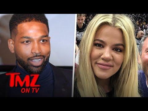 Khloe Kardashian Supports Her Man Through Breakup Rumors | TMZ TV