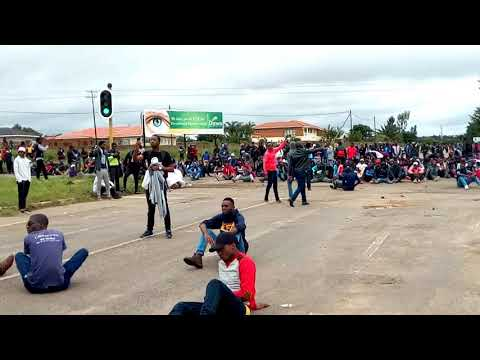Demo escalates at NUST shutdown!