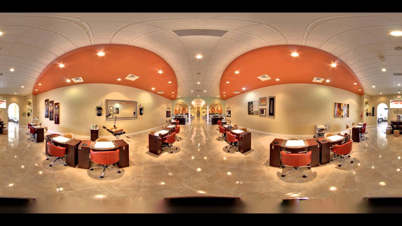 Luxe Nail Spa (360° virtual tour) - YouTube
