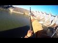 Catfishing at a Dam