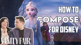 Download lagu 'Frozen 2' Songwriters Discuss Writing Music for Animated Musicals | Vanity Fair