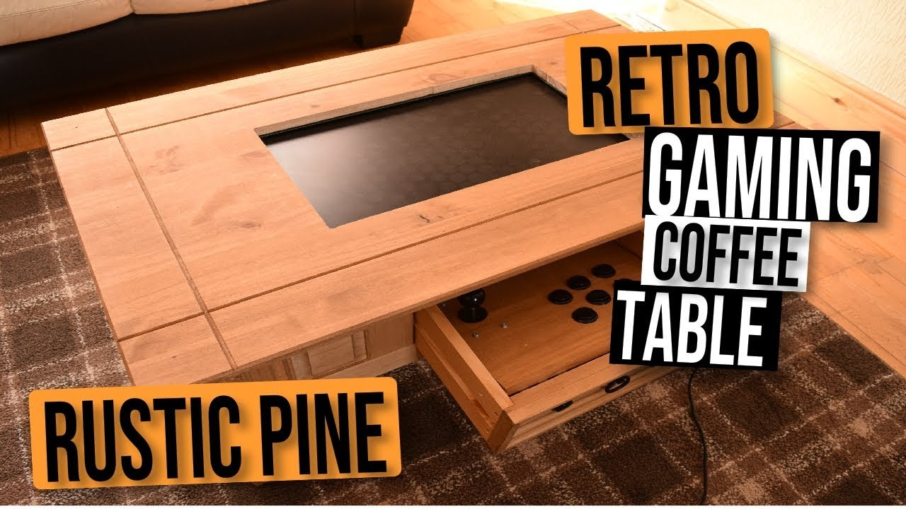 Gaming Coffee Table.Our Best Retro Gaming Coffee Table Build Yet