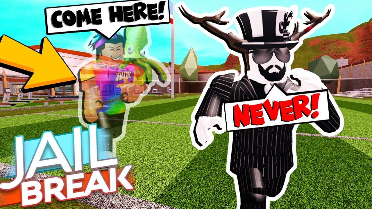 How To Be Invisible In Roblox Jailbreak 2019 Invisible Cop Arrests Asimo3089 In Roblox Jailbreak Get Rekt Youtube