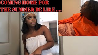 Coming home from College be like.... (VERY FUNNY SKIT)