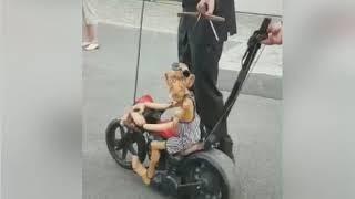 motorcu kukla