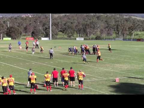 Capital Bowl XXIV (ACT Gridiron 2016) - UC Firebirds vs Central Spears
