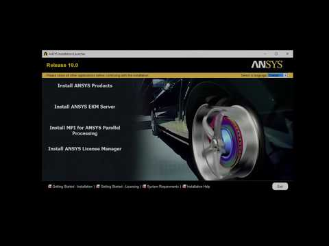 Installing ANSYS 19 on Windows