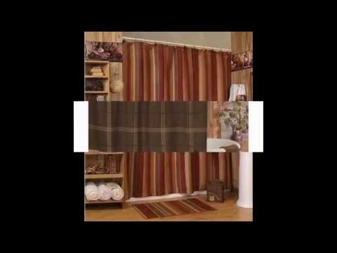 Creative Rustic shower curtains design