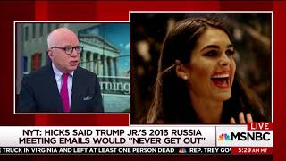 Mika boots Michael Wolff over 'disgraceful' innuendo about Nikki Haley and Trump