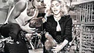 MADONNA  - The beast within (Exclusive Vincent BASTILLE 2010 remix - DOLCE & GABANA VIDEO))