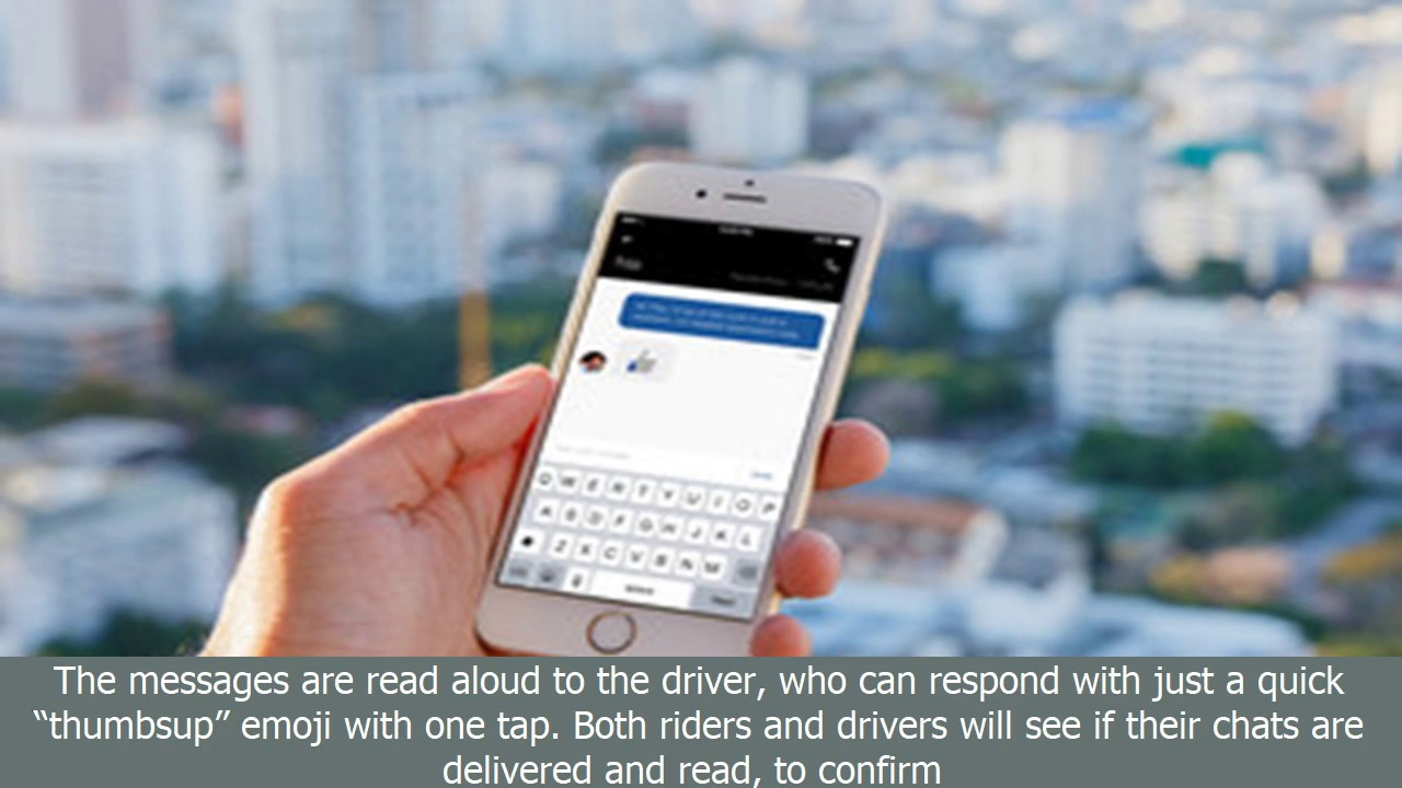 Uber's new in-app chat will help you avoid exchanging creepy texts with your driver