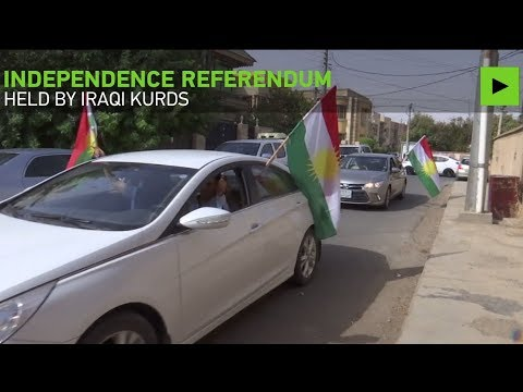 Kurds eye independence in controversial referendum as neighbors hold massive drills