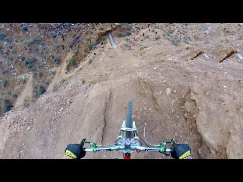 GoPro: Backflip Over 72ft Canyon - Kelly McGarry Red Bull Rampage 2013 Travel Video