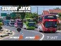 Emak-emak Minta Telolet 6 Unit Bus Subur Jaya Study Tour Bali