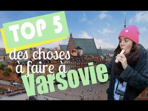 TOP 5 des choses à faire à Varsovie - Pologne !