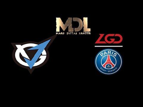 VGJ Storm vs PSG.LGD Game 1,2 MDL Changsha Highlights Dota 2
