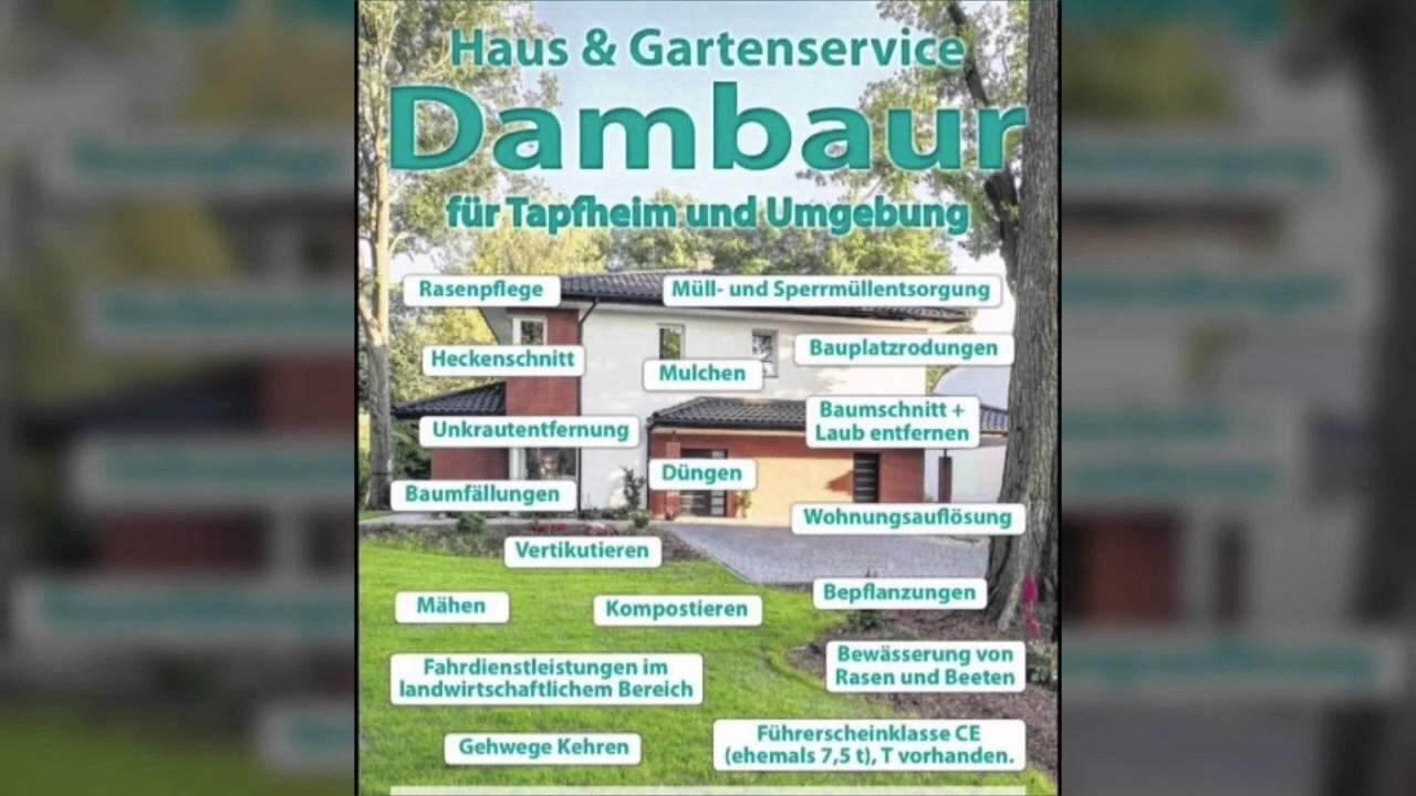 Haus & Gartenservice Dambaur - YouTube