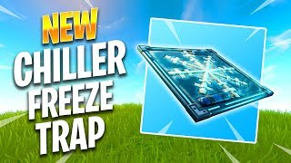 NEW CHILLER TRAP (FREEZE/ICE TRAP) - Fortnite Best Moments & Fortnite Funny Moments #172