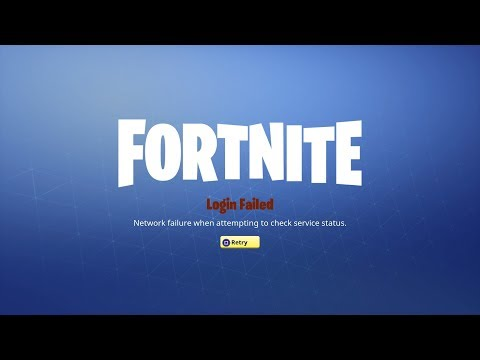 Fortnite Login Failed Fix Contacting Services