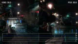 Dead Space 3 Xbox 360/PS3 Gameplay Frame-Rate Tests