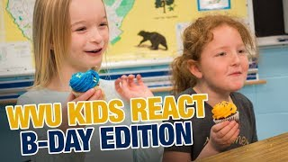 WVU IS THAT OLD?! 😲(WVU KIDS REACT)