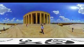Anıtkabir ( Atatürk ) 360 Derece Video Panorama Gezinti - 360 Degree Video Panorama