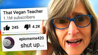 THAT VEGAN TEACHER IS BACK