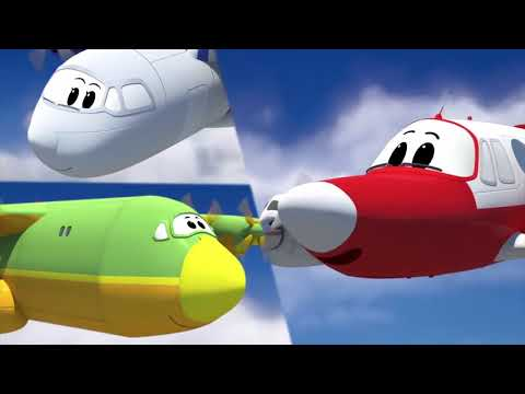 Surat Al Baqarah - Quran For Kids (planes, cars and trucks cartoon)