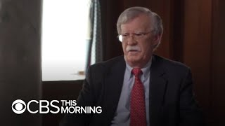 "Former adviser John Bolton blasts President Trump in new book as ""dangerous for the country"""
