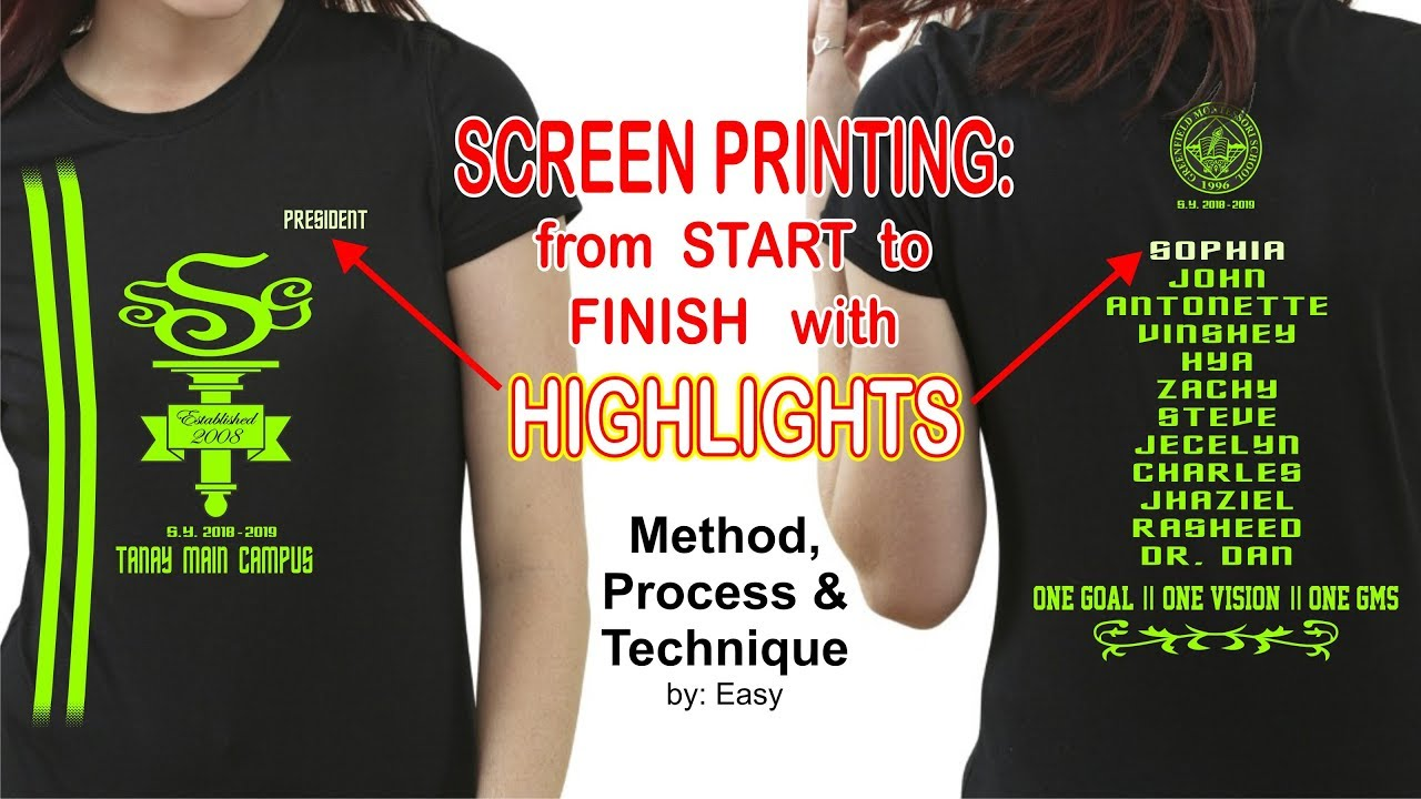 84ea2f45 Best Way To Start Printing Shirts - Cotswold Hire