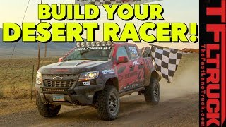 Turn a Chevy Colorado ZR2 Into an Off-Road Race Truck with $23,000 of Parts