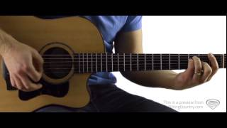 I Hold On - Guitar Lesson and Tutorial - Dierks Bentley Video