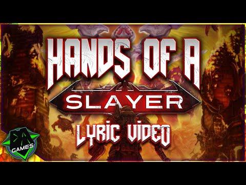 DOOM ETERNAL SONG (Hands Of A Slayer) LYRIC VIDEO - DAGames