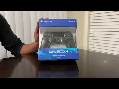 dualshock-4-wireless-controller-for-playstation-4-unboxing-|-steel-black-|-unknown-unboxers