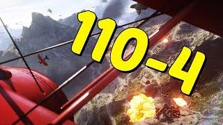 OPERACJE! – Attack Plane wAkcji 110-4 | Battlefield 1
