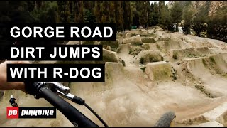 A Tour of Gorge Road Dirt Jumps w/ R-Dog