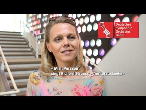 Miah Persson singt Richard Strauss' ›Vier letzte Lieder‹