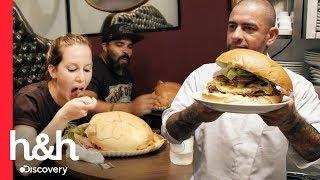 Campeonato de hambúrger gigante do Fogaça | 200 Graus | Discovery H&H Brasil