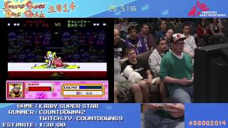 Summer Games Done Quick 2014 - Part 8 - Kirby Super Star