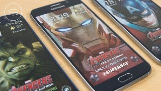 Galaxy S6 Iron Man/Hulk/Avengers Edition FREE Themes | SuperSaf TV
