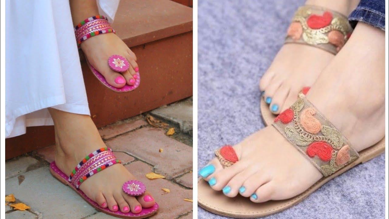 Latest kolhapuri chappal designs ideas
