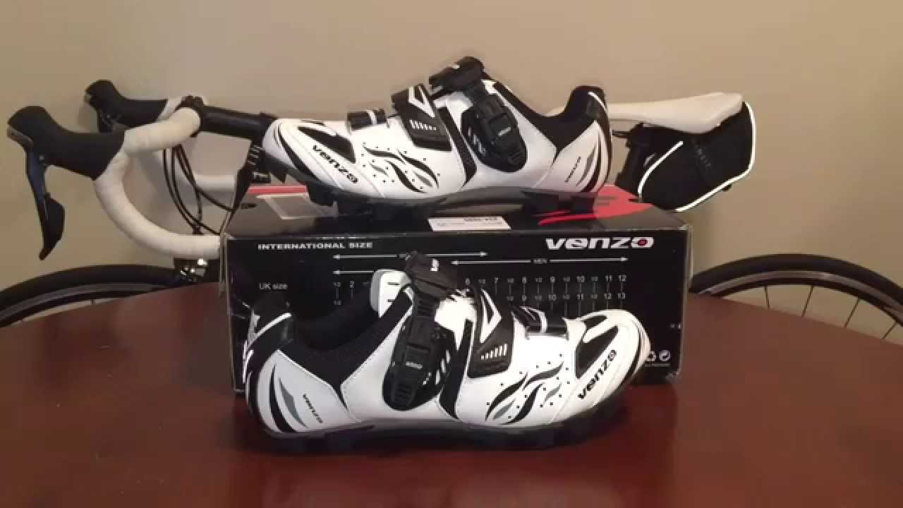 Venzo Cycling Mtb Shoes Unboxing Youtube